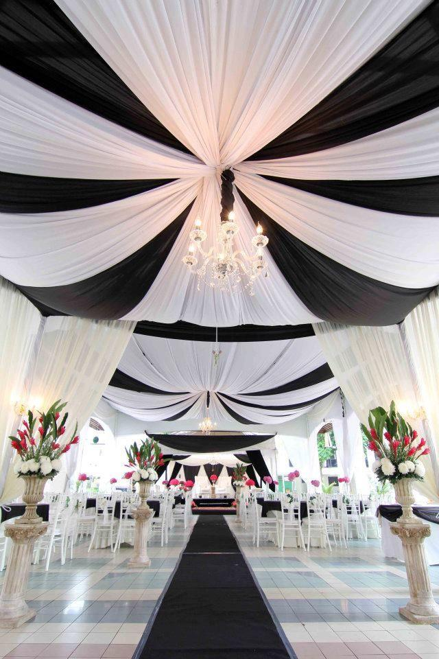Black And White Themed Indian Wedding Ideas