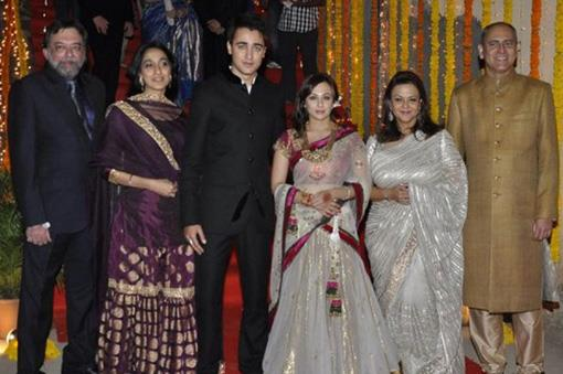 Bollywood Celebrity Wedding: Imran Khan and Avantika (2)