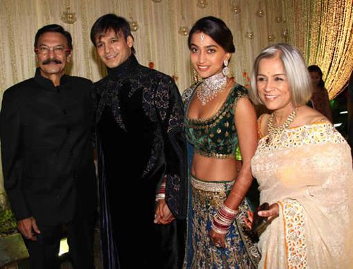 Bollywood Celebrity Wedding - Vivek Oberoi and Priyanka Alva