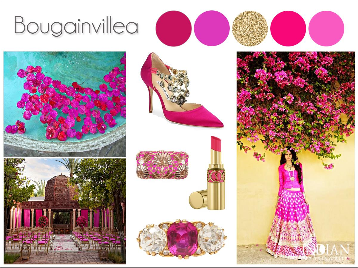 Bougainvillea-Pink-Indian-Wedding-Palette