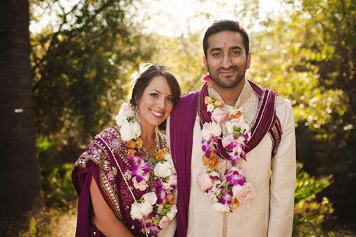 California Fusion Hindu Wedding by Tyler Branch Photo - 2