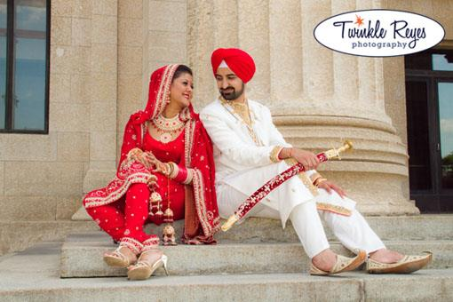 Canadian Indian Wedding: Ravinder and Harman (3)