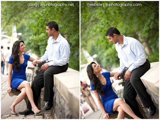 Central Park Engagement Session by SYPhotography