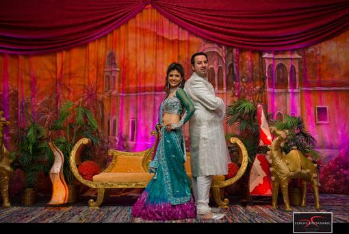 Chicago Indian Wedding Sangeet