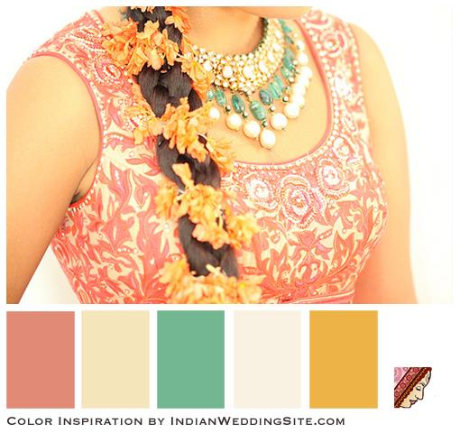Inspiration- Indian Wedding Color Palettes