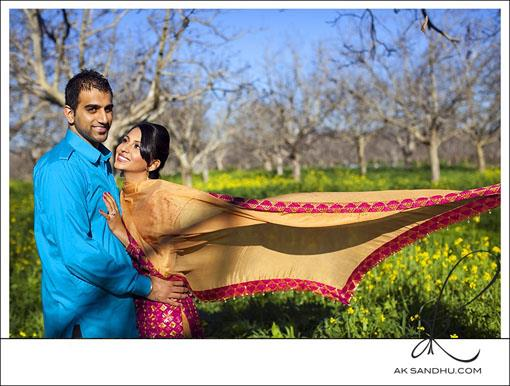 DDLJ Inspired Indian E-Session by A.K. Sandhu Photography