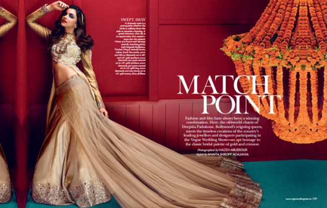 Deepika Padukone in Vogue