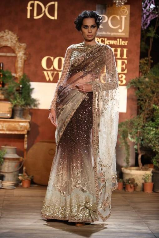 delhi couture week 2013 photos sabyasachi