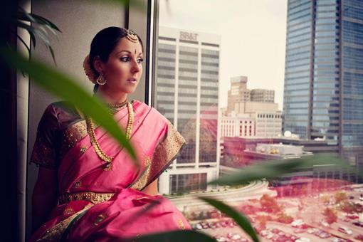 Fall Traditional Hindu Wedding Ceremony