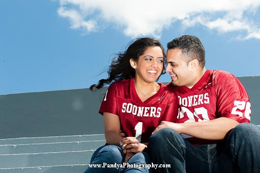Football Themed Indian Engagement Session