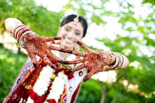 Fusion Indian Wedding Portraits in Porterville California - 2