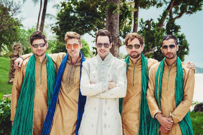 6a indian wedding groomsmen