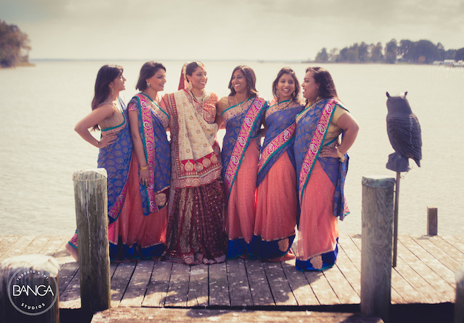 12a indian wedding bridal party