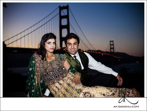 Golden Gate Bridge Indian E-Session by A.K. Sandhu