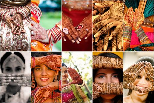 Gorgeous Indian Wedding Mehndi Designs