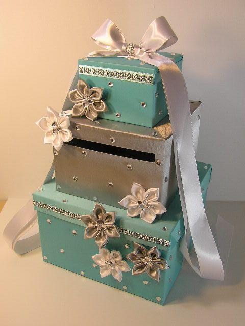 Gift Box Ideas For Wedding Cards : fun, DIY idea for a card box holder- or you can purchase this one ...