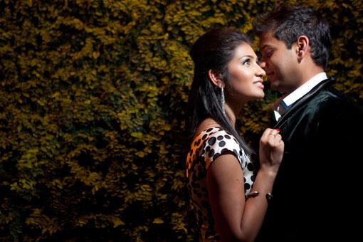 Houston Indian Engagement Session by Pink Posh Photography