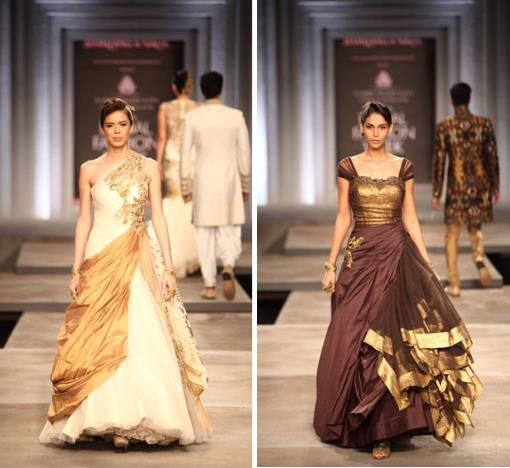 IBFWD-13-Shantanu-Nikhil-gown-gold-ivory-brown-bronze