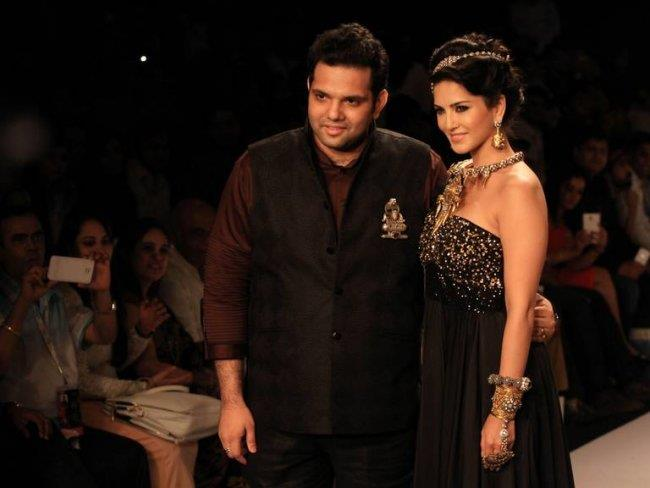 Sunny Leone and Sumit Sawhney