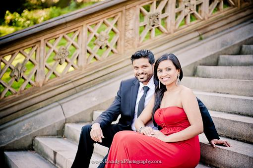 Indian Engagement Session by Pandya Photography