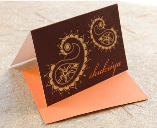 Indian Invitation Suite by 3 Bees Paperie