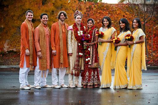 Indian Wedding Color Inspiration- Lemon Zest