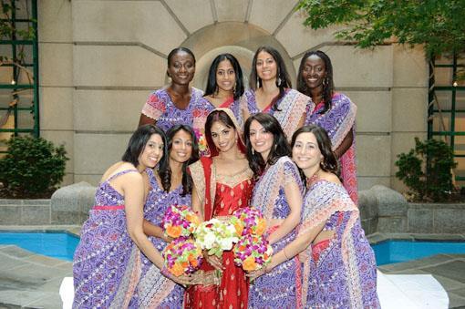 Indian Wedding Color Palette Inspiration - Violet