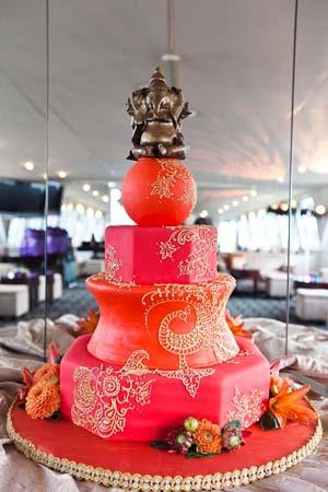 Indian Wedding Inspiration Dreamy Wedding Cakes