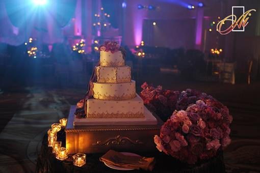 Indian Wedding Inspiration - Dreamy Wedding Cakes