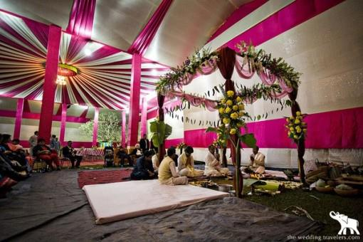 Indian Wedding Mandap Inspiration