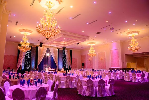10a indian wedding ballroom decor