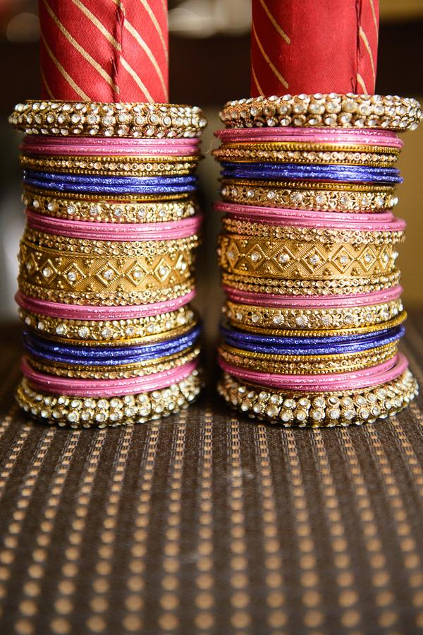 4a indian wedding colorful churrahs