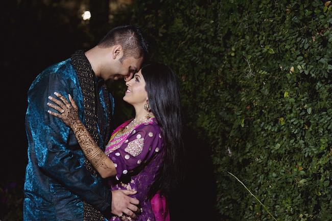 4a indian wedding mehndi couple
