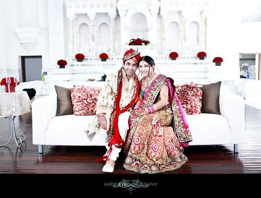 Indian Wedding Portraits by Aaroneye Photography