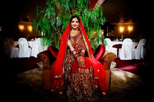 Indian Wedding Portraits by Jeremy Martinez Photography
