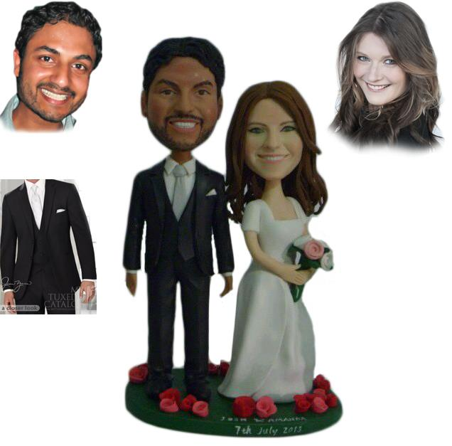 Custom Cake Toppers Wedding[1]