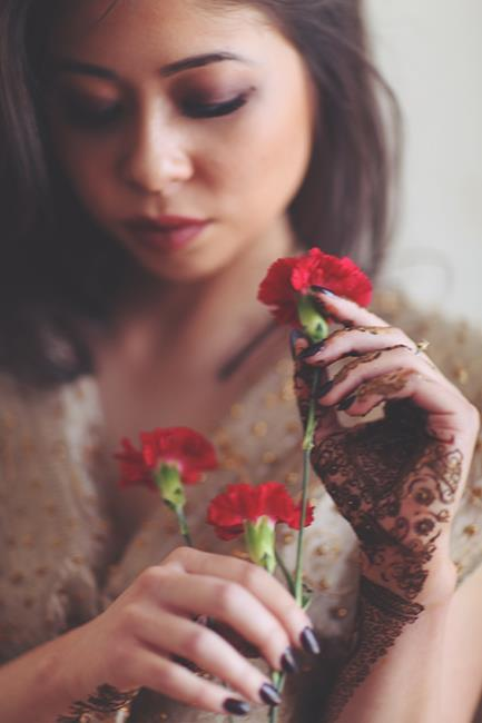 7 Indian Wedding Rose and Mehndi