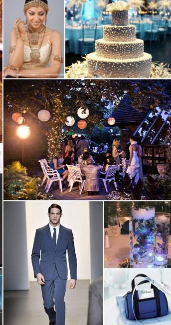 Inspiration Board: Royal Midnight Blue