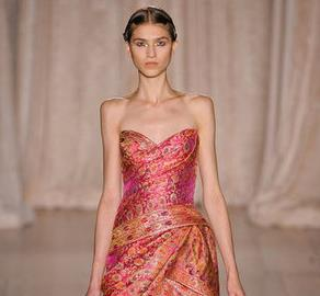 Marchesa Spring 2013- India Inspired Fashion