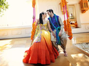 Indian Wedding Color Inspiration Udaipur