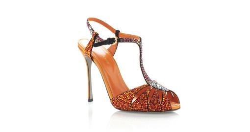 Tuesday Shoesday - Indian Bridal Crystal Shoes