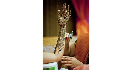 Southern California Intricate Indian Bridal Mehndi - 1