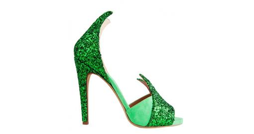Tuesday Shoesday- Emerald Shoes for Brides