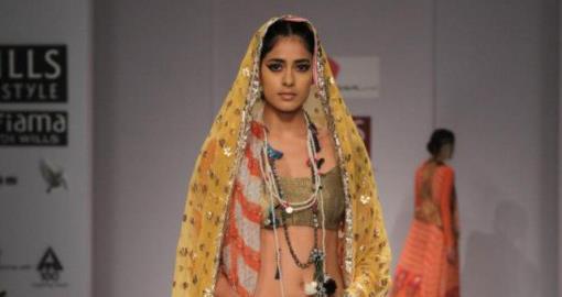 Indian Wedding Fashion from WIFW 2013 by Anupama, Vineet Bahl & Nikasha