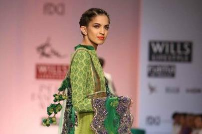 IIndian Wedding Fashion from WIFW 2013 by Joy Mitra / Soltee by Sulakshana