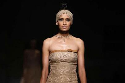 Indian Wedding Fashion from WIFW 2013 by Shantanu & Nikhil / Anju Modi