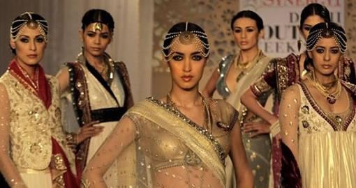 Delhi Couture Week: Anju Modi and Adarsh Gill