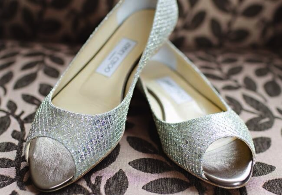 Jimmy Choo London Flats - Indian Wedding Shoes