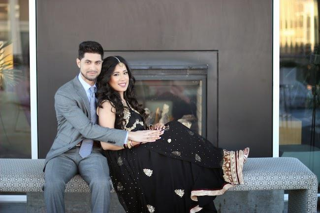 2a indian wedding esession portrait