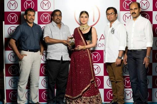 Kareena Kapoor Styled as an Indian Bride for Malabar Gold and Diamonds